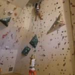 2015-08-04 DAV Kletterhalle - Die KiKUs beim Klettern