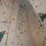 2015-08-04 DAV Kletterhalle - Die Kletterwand